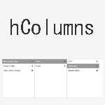 hColumns - Looks like Mac OS X Finder's column view