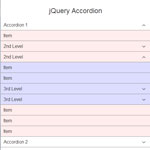 jQuery Accordion - Responsive and CSS powered