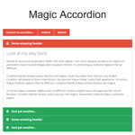 Magic Accordion - Very simple jQuery accordion