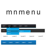 Mnmenu - Create dropdown menus from 'ul' lists
