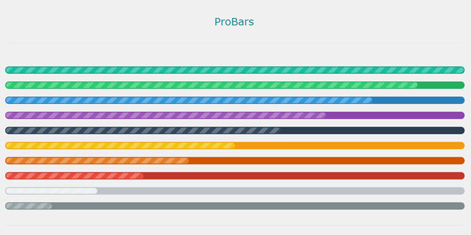 ProBars - Stylish progress bars