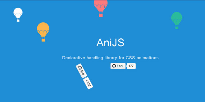 AniJS - Declarative handling library for CSS animations