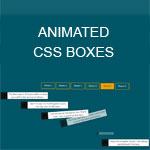 Animated CSS Boxes