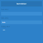 Inewsticker - A jQuery news ticker with effects