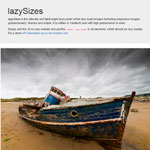 lazySizes - High performance lazy loader for images