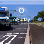 Oblurlay - Implement a blur view of iOS7 style