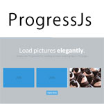ProgressJs - A themeable progress bar library for everything