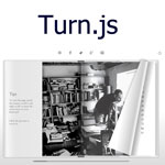 Turn.js - Make a flip book with HTML5