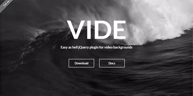 Vide - Video backgrounds