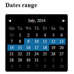PickMeUp - jQuery datepicker plugin
