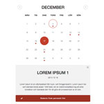 jQuery Simple Event Calendar