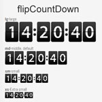 flipCountDown - Flip Count Down Retro Clock