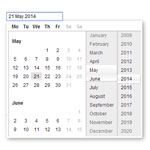 Rich date picker - Pretty datepicker plugin for jquery