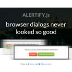 alertify.js : JavaScript Alert/Notification System