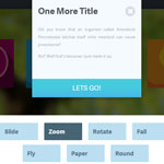 Block Slide - Animated Modal Window Image Gallery