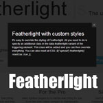 Featherlight -  very lightweight jQuery lightbox