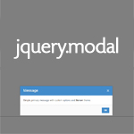 jquery.modal - A simple jquery Modal boxes