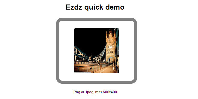 Js Tutorial - DropzoneJS - Drag&drop file uploads with image previews