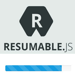 Resumable.js - multiple simultaneous, stable and resumable uploads