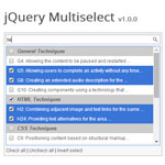 jQuery Multiselect - Converts all multiselect fields into checkboxes