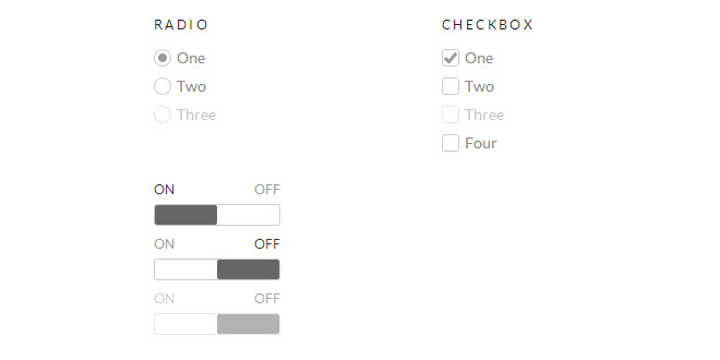 Picker - Replacing default checkboxes and radios