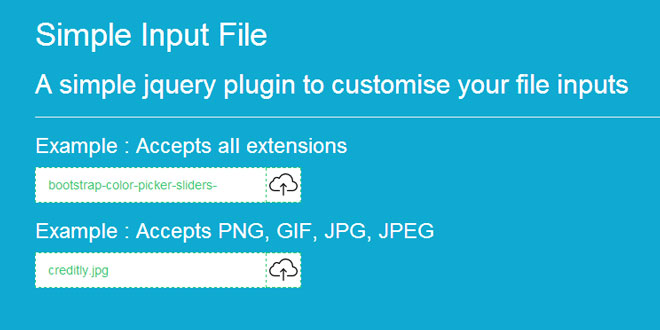 Simple File Input - Customise your input files