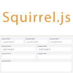 Squirrel.js - Store field values in HTML5 session Storage