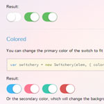Switchery - iOS 7 style switches for your checkboxes