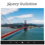 jQuery Guillotine Plugin