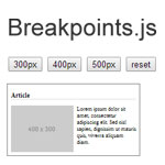 Breakpoints.js -  Makes modular responsive design