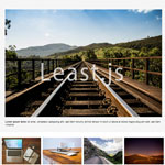 Least.js - Random and Responsive HiDPI jQuery Gallery