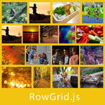 rowGrid.js - Place Items in Straight Rows