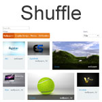 Shuffle - Categorize, sort, and filter a grid of items
