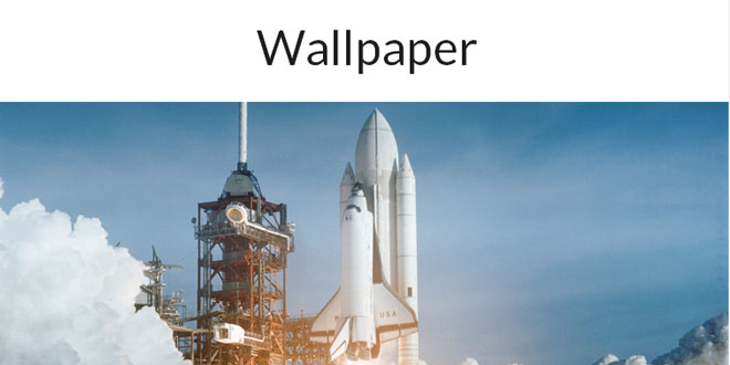 Wallpaper - Smooth-scaling image and video backgrounds