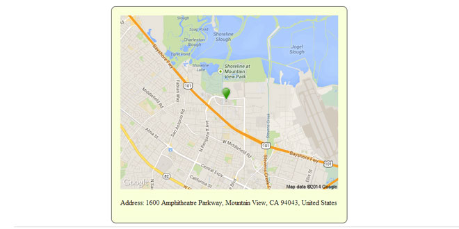 Static Google Maps - Generating url for static google map
