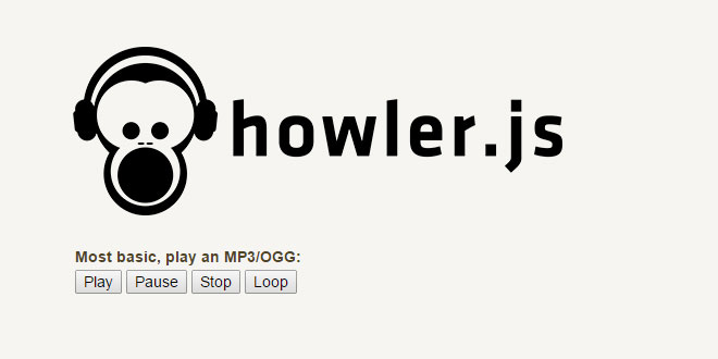Howler.js - Modern Web Audio Javascript Library