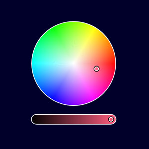Iro.js HSV color picker widget