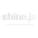 Shine.js - A library for pretty shadows
