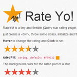 rateYo -  A simple and flexible star rating plugin