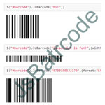 JsBarcode - Create different type of barcodes