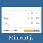 Minicart.js - Great way to improve your PayPal shopping cart