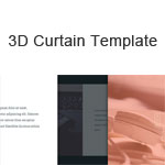 3D Curtain Template
