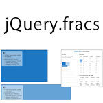 jQuery.fracs - Determine the visible fractions of an HTML element