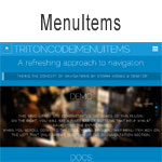 MenuItems - A refreshing approach to navigation