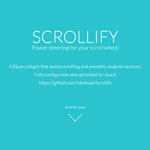 Scrollify - Power steering for your scroll wheel