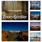 Zoom Scroller - Zoom Animation on Images while Scrolling