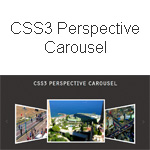 CSS3 Perspective Carousel