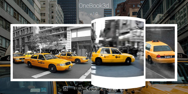 OneBook3d - Easily create an eye-catching presentation of your books