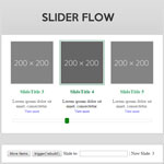 Slider Flow - Adaptive slider with scrolling navigation