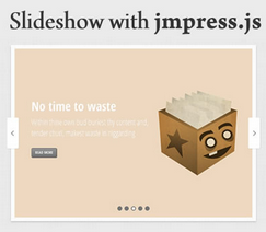 Slideshow with jmpress.js